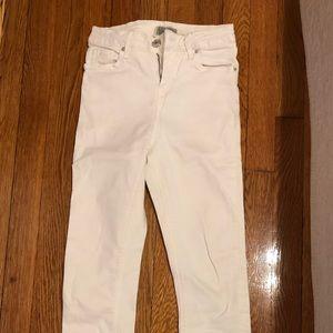 Topshop Jamie White Denim Skinny Jeans